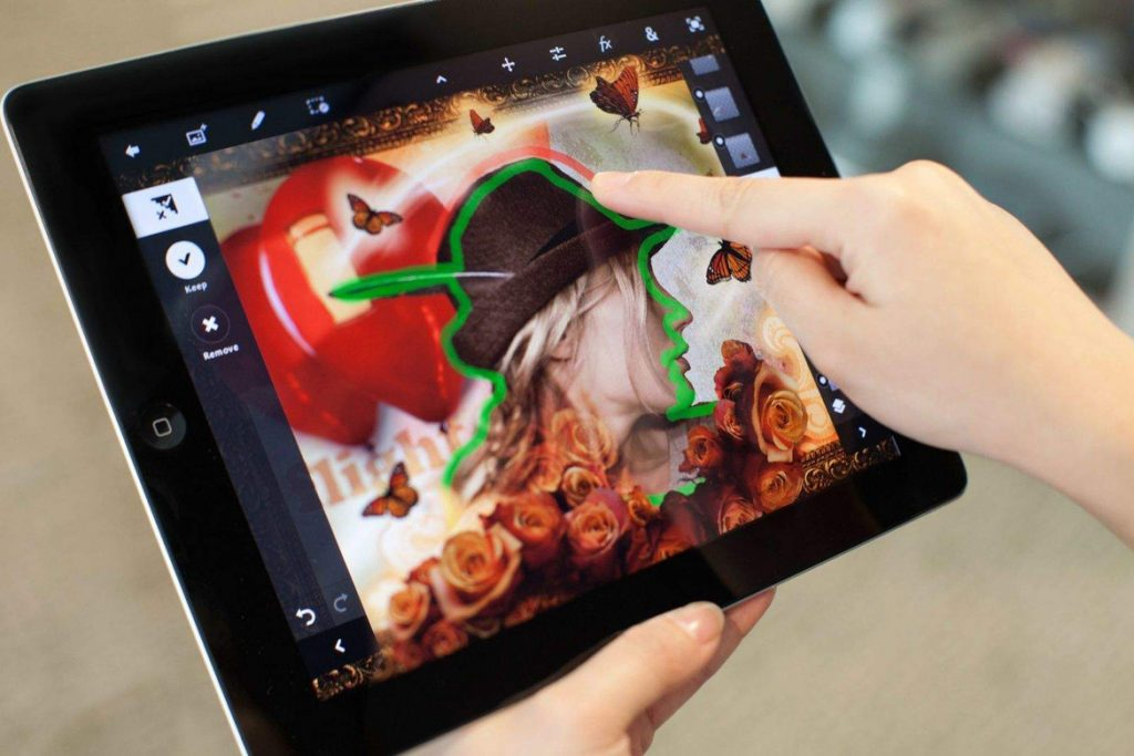 full version of Photoshop for iPad