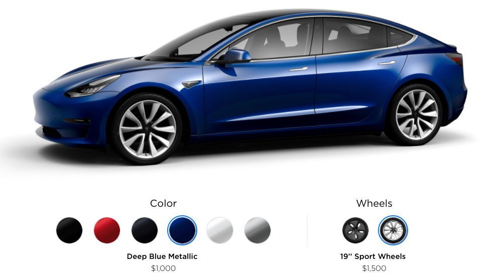 Promotions for Model 3 finally starting by Tesla